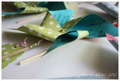 Pinwheels Birthday Invites <3