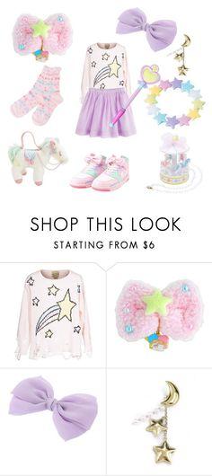 """""""Shooting Star"""" by sweetpasteldream ❤ liked on Polyvore featuring Wildfox"""