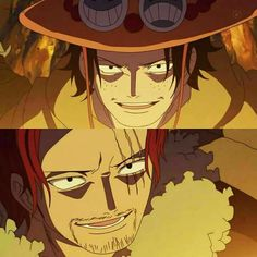 Shanks & Ace #onepiece