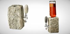 Stone Drink Dispenser | 20 Drink Dispensers and Pitchers for Your Next Party