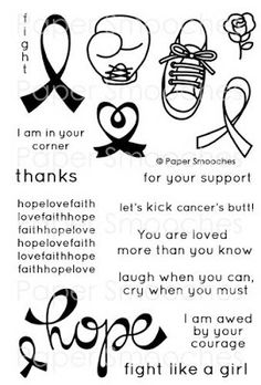Paper Smooches: Hope stamp set