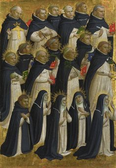 angelico. Пределла (1). Прославление Христа 1428-30. Темпера, дерево. Национальная галерея, Лондон