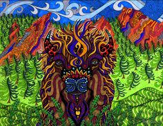 The Buffalo by Phil Lewis (www.phillewisart.com)