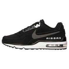 brand new 8b395 ab60f Nike Air Max Ltd 3 Mens 687977-011 Black Grey Athletic Running Shoes Size  11.5