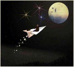 Imaginación que vuela...