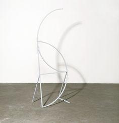 Thea Djordjadze, Mathémat, 2007 Steel, lacquered, 162 x 54,7 x 36 cm