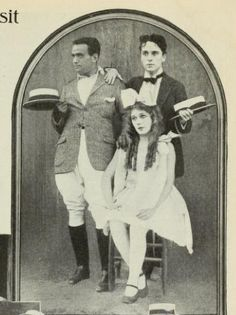 Douglas Fairbanks, Charlie Chaplin, Mary Pickford