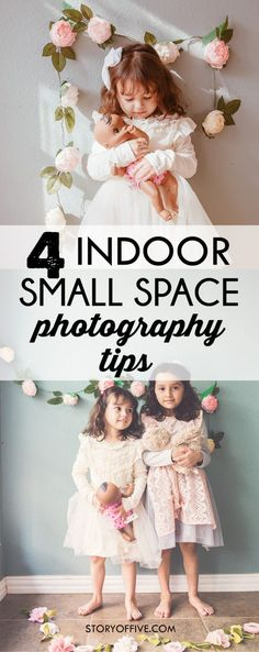 4 Indoor Small Space Photography Tips