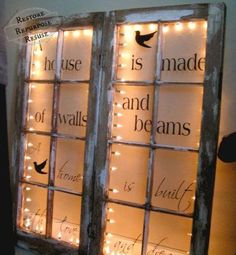 How To Reuse Old Windows