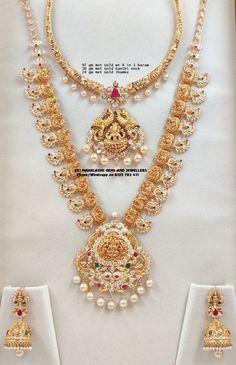 Gold Ring Designs, Gold Bangles Design, Gold Jewellery Design, Gold Haram Designs, Gold Temple Jewellery, Gold Wedding Jewelry, Gold Jewelry Simple, Pearl Necklace Designs, Gold Earrings Designs