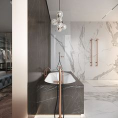 Bathroom Ideas Master Home Decor is totally important for your home. Whether you pick the Interior Design Ideas Bathroom or Luxury Bathroom Master Baths Dark Wood, you will make the best Luxury Master Bathroom Ideas Decor for your own life. Modern Bathroom Design, Bathroom Interior Design, Home Interior, Decor Interior Design, Interior Decorating, Luxury Master Bathrooms, Luxury Bath, Master Baths, Bathroom Fitters