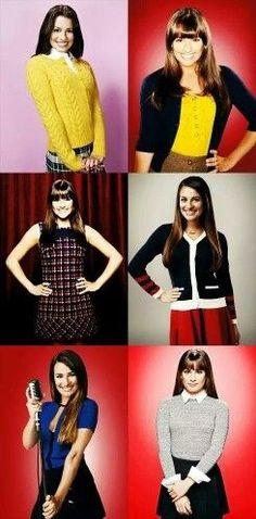 Rachel Berry season 1 - season 6