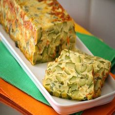 Ricetta Flan di zucchine Finger Foods, Guacamole, Lasagna, Quiche, Diet Recipes, Nom Nom, Buffet, Food And Drink, Pizza