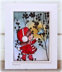 Penny Black image card by Birgit