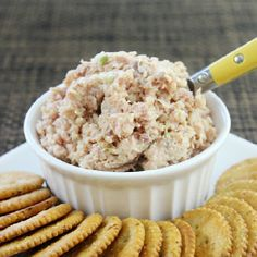 Ham Salad - Put that leftover ham to good use! It's great as a dip, spread or as a sandwich filling!