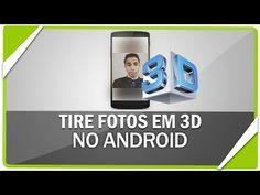 Como tirar fotos em 3D no android - YouTube