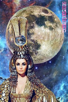 Elisabeth Taylor #Artcollage #Collage ⭐#Stars by AnaTeresaPerez