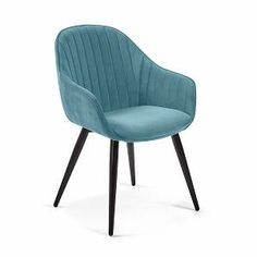 Blue Velvet Chairs, Blue Accent Chairs, Slipcovers For Chairs, Upholstered Chairs, White Chair Covers, Outdoor Rocking Chairs, Metal Dining Chairs, Bedroom Chair, Blue Bedroom