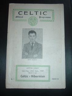 Celtic v Hibernian Oct 1949