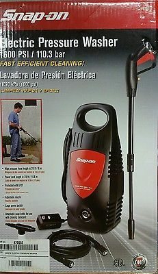 $85.......Practically NEW Snap on 870552 1600 PSI Electric Pressure Washer With 20 Foot Hose in Home & Garden, Yard, Garden & Outdoor Living, Outdoor Power Equipment | eBay