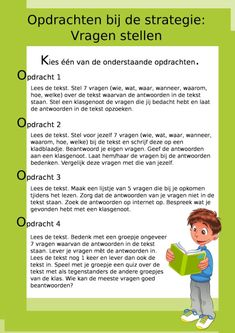 Reading comprehension = understanding what you read. In addition to general knowledge, large vocabul Close Reading, Spelling For Kids, Dutch Language, Language Lessons, Teaching Strategies, Play To Learn, Reading Comprehension, Fun Learning, Vocabulary