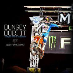 My favorite. Enduro Motocross, Motorcycle Racers, Bmx, Ryan Dungey, Motocross Championship, Freestyle Motocross, Bike Rider, Fox Racing, Dirtbikes