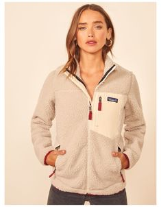 Patagonia Outfit, Patagonia Fleece Jacket, Patagonia Pullover, Patagonia Clothing, Patagonia Retro X, Outdoor Outfit, New Wardrobe, Cute Outfits, Sporty Outfits