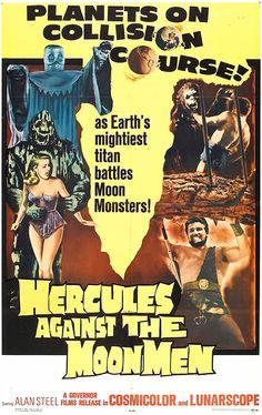 Hercules Against The Moon Men (1964) starring Alan Steel
