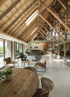 Pole Barn House Plans, Pole Barn Homes, Modern Mountain Home, Barn Renovation, Modular Homes, Farmhouse Plans, Cabin Homes, Home Deco, Future House