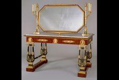 Table de toilette de l'impératrice Joséphine aux Tuileries (1804) de Jacob-Desmalter