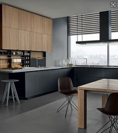Cherry wood Kitchen With Gray is part of Kitchen fittings - Welcome to Office Furniture, in this moment I'm going to teach you about Cherry wood Kitchen With Gray
