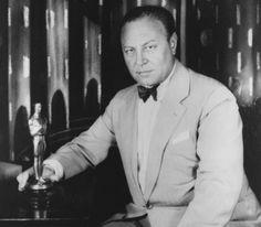First Best Actor Oscar Winner 1927 -      Emil Jannings