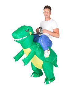 Inflatable Riding Dinosaur Animal Costume