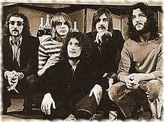 Fleetwood Mac at the Melody Maker Awards, 1969 From left to right: John McVie, Danny Kirwan, Jeremy Spencer, Mick Fleetwood, and Peter Green
