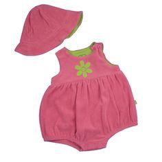 Hot Pink Romper - SundaysChild.com