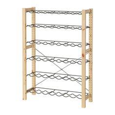 IVAR 1 section unit with bottle racks  - IKEA $69 35x12x49