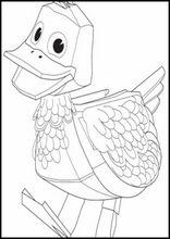 Kleurplaten Zack En Quack.Tekeningen Printen Zack En Quack7 Owen Pinterest