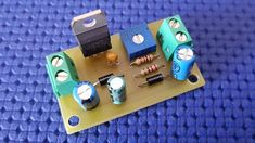 Alimentatore variabile con LM317 Voltage Regulator, Electronics Projects, Usb Flash Drive, Technology, Circuits, Designer Fonts, Tech, Tecnologia, Usb Drive