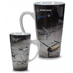 Boeing Military Family Latte Mug