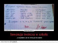 Stylowi.pl - Odkrywaj, kolekcjonuj, kupuj Polish Memes, Weekend Humor, Funny Mems, Meme Lord, Wtf Funny, Man Humor, Funny Photos, Sentences, Haha