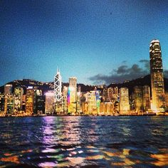 Victoria Harbour, Hong Kong The most beautiful harbor in the world (in my opinion)….