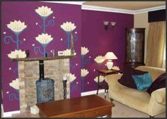 Interior Remodel for Fancy Red And Purple Living Room Red Bedroom Color Schemes Purple Bedroom Color Schemes Simple, you can see more pictures for Interior Remodel added on Thursday, November 2016 at Coffee Table Design. Plum Living Rooms, Simple Living Room, Living Room Decor, Purple Rooms, Purple Walls, Purple Wall Decor, Purple Furniture, Family Room Decorating, Decorating Ideas