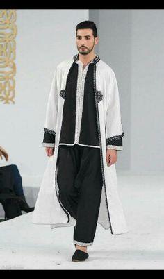 Jabador Arab Men Fashion, Abaya Fashion, Muslim Fashion, African Fashion, African Men, Male Fashion, Modern Fashion, Style Oriental, Oriental Fashion