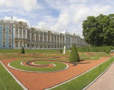 Catherine Palace in Russia. Picture courtesy of General Tours.