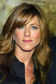jennifer aniston hairstyles with bangs   Long Bangs: Hairstyles Featuring Long Bangs (Gallery 5 of 5)