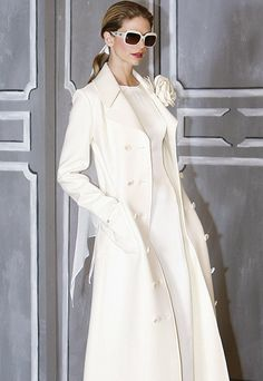 abrigo novia