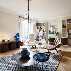 salon séjour contemporain par 10surdix