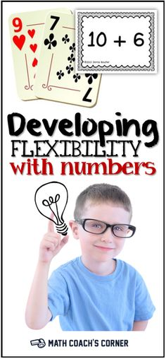 The ability to compose and decompose numbers in different ways is a powerful component of number sense. Grab a free game to promote flexible thinking!