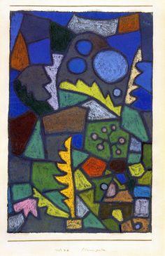 The Athenaeum - Flower Garden (Paul Klee - )