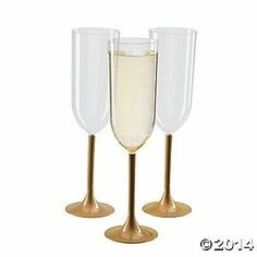 Plastic Champagne Flutes Champagne Flutes And Flute On